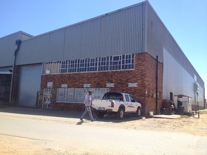 Industrial Property to rent in Germiston Nancy Street Driehoek, Ref: 178267