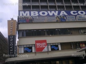 Retail Shops to rent in Johannesburg CBD Trading Spaces, Ref: 197227