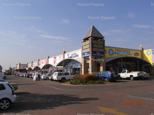 Lenchen Centre Retail Shops to let in Hennopspark